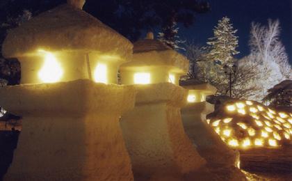 ☆上杉雪灯篭祭り×バレンタイン☆