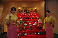 仲居さんとひな祭り♪2010