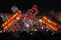 飯坂けんか祭りは、10月1・2・3日