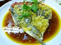湖南料理・魚頭の唐辛子煮込み